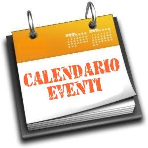 Calendario degli eventi di GIUGNO